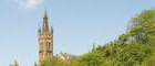 University of Glasgow Main Building from Kelvinbridge